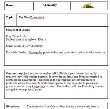 Mole Powerpoint