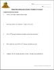 Free Mole Practice Worksheet: Converting between mass, moles, and molecules
