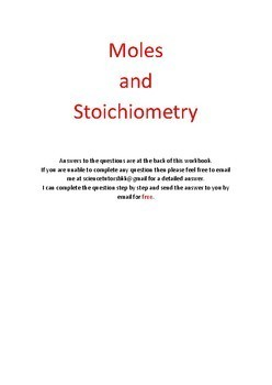 Mole and Stoichiometry problems + answers (Suitable for IGCSE, IB, A-level & AP)