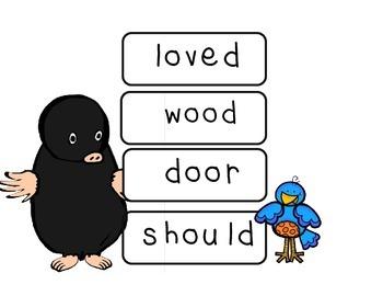 Mole and the Baby Bird Fry Phrases: Reading Street