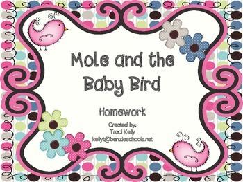Mole and the Baby Bird Homework - Scott Foresman 1st Grade