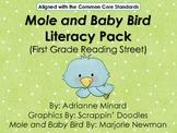 UPDATED Mole & the Baby Bird Literacy Pack - First Grade F