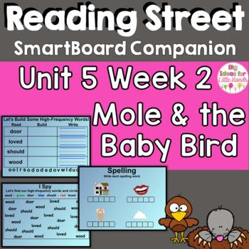 Mole and the Baby Bird SmartBoard Companion 1st First Grade