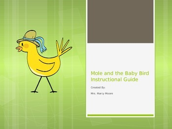 """Mole and the Baby Bird"" (Weekly PowerPoint for Reading St"