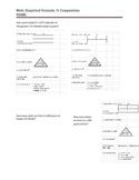 Mole, empirical formula, % composition guided practice