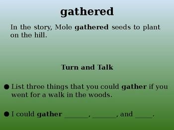 Mole's Hill | Collaborative Conversations | Tier 2 Vocabulary | Text Talk