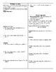Mole unit worksheet