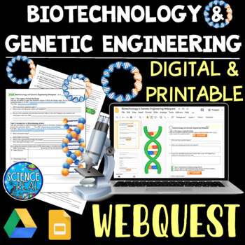 Biotechnology WebQuest with Virtual Labs
