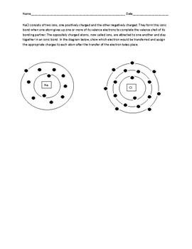 Molecular Bonding Practice Worksheet