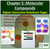 Molecular Compounds - Digital Interactive Notebook Pages