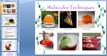 Molecular Gastronomy: The Future of Food? [LAB/LESSON BUNDLE]