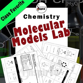 Molecular Models - Lewis Structures Inquiry Lab w/ Customizable Headers