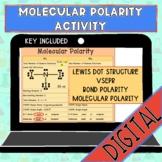 Molecular Polarity Activity (with Lewis Dot Structure, VSEPR, and Bond Polarity)