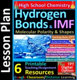 Molecular Polarity, Shapes, Symmetry, Hydrogen Bond: Essential Skills Lesson #16
