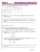Molecular Polarity, Shapes & Symmetry - Worksheets & Practice Questions