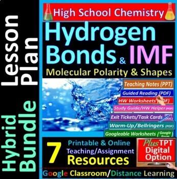 Molecular Polarity, Shapes, IMF, Hydrogen Bond: Essential Skills Worksheet #16