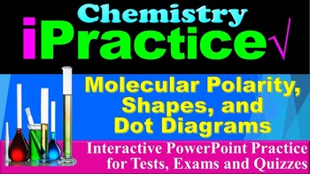 Molecular Shapes & Dot Diagrams: iPractice (Interactive PP