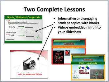 Molecular and Ionic Compounds - Complete 5E Lesson Bundle