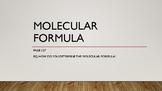 Molecular formula slideshow