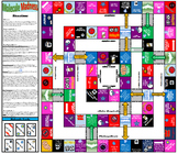 Photosynthesis, Respiration, & Carbon & Oxygen Cycle Printable Board Game