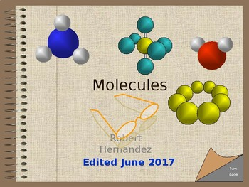 Chemistry II: Molecules. An Interactive Intro