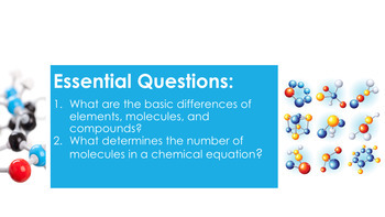 Molecules Complete 5E Lesson Plan