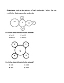 Molecules, Labeling with Chemical Formulas