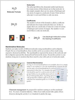 Molecules Marshmallows Chemistry