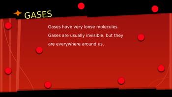 Molecules: Solid, Liquid, Gas Powerpoint