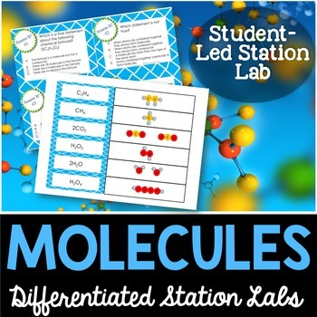 Molecules Student-Led Station Lab