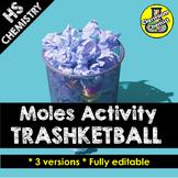 Moles Activity - Trashketball