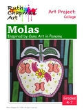 Molas Inspired by Cuna Art of Panama: Art Lesson for Grades 4-7