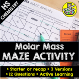 Moles - Molar Mass Activity - MAZE