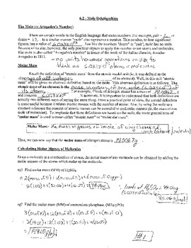 Mole Percent Composition Empirical Formula Worksheets ...