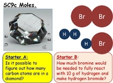 Moles and Concentration Calculations GCSE Chemistry lesson SC9c