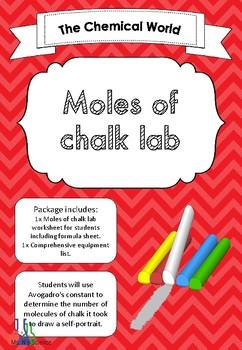 Moles of Chalk Lab