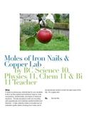 Moles of Iron Nails & Copper Lab