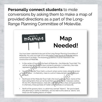 Introduction To The Mole Graphic Organizer
