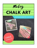 Moley Chalk Art: A Stoichiometry Activity