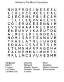 Moliere's The Miser Word Search