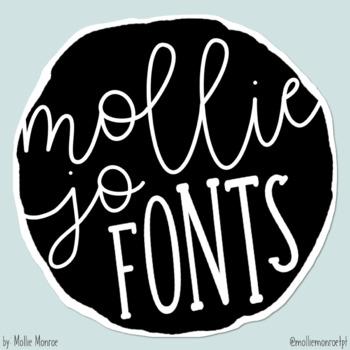 Mollie Jo Fonts: Volume One