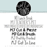 Mollie Jo Fonts: Volume One
