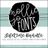 Mollie Jo Fonts: Growing BUNDLE