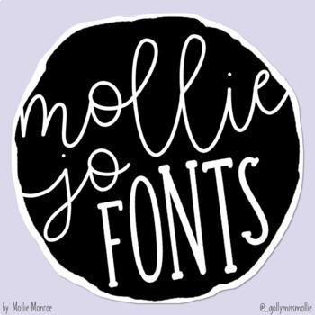 Mollie Jo Fonts: Volume Five