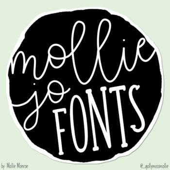 Mollie Jo Fonts: Volume Three