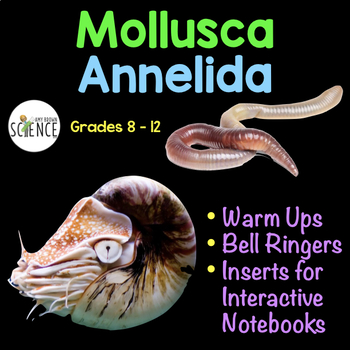 Mollusca and Annelida Warm Ups