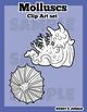 Molluscs Clip Art set