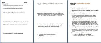 Mollusks Homework Assignment