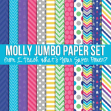 Molly Jumbo Set Digital Papers