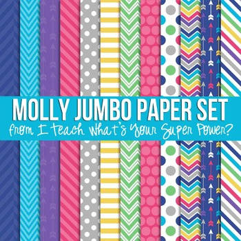Molly Jumbo Set Digital Papers
